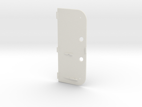 2DS Catridge Back in White Natural Versatile Plastic