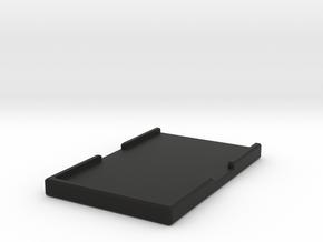 Minimalist Wallet in Black Natural Versatile Plastic