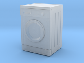 Washing Machine 01.  1:24 Scale in Smooth Fine Detail Plastic