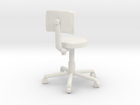 Printle Office Chair in White Strong & Flexible