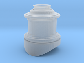 12 Steam Dome Stl in Smooth Fine Detail Plastic