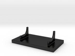 Mini Basic Stand in Matte Black Porcelain