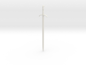 1/6 Game of Thrones sword Longclaw in White Strong & Flexible
