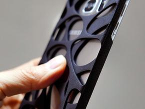 Samsung Galaxy S7 Edge Case_Voronoi in Black Strong & Flexible