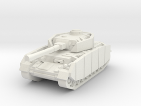 Pzkpfw IV ausf H in White Strong & Flexible