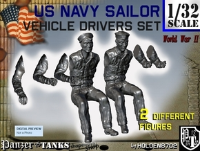 1-32 USN Sailor Driver Set1 in Frosted Ultra Detail