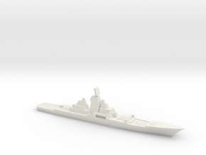 Hypothetical Chinese mod of BC Kirov, 1/3000 in White Natural Versatile Plastic