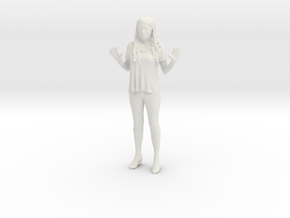 Printle C Femme 028 - 1/35 - wob in White Natural Versatile Plastic