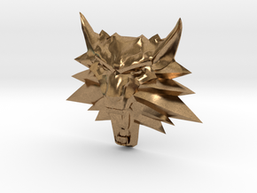 Ornament Witcher2 in Natural Brass