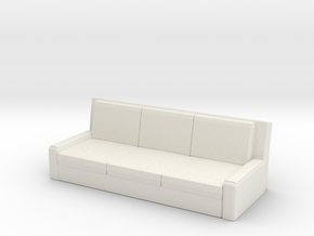 Printle Thing  Sofa 01 - 1/24 in White Strong & Flexible