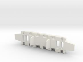 E-100 Track part 1 (lead)  1/16 in White Natural Versatile Plastic