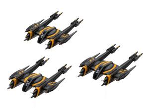 Rogue-class starfighter 3-pack in Frosted Extreme Detail
