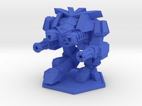 Colour Rim Bastion Main Battle Walker in Blue Processed Versatile Plastic