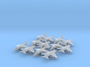 Harrier AV-8B (12x) (1:400) in Smooth Fine Detail Plastic