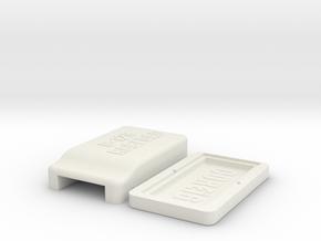 Commodore 128 C-128 RGBi DAC Case in White Natural Versatile Plastic