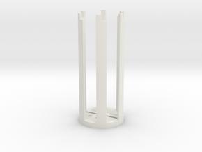 ESB/TFA Grip Guide (Version B) in White Natural Versatile Plastic