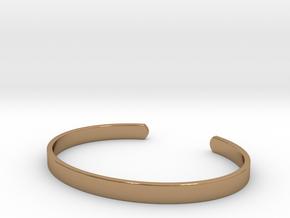 Cuff Bracelet in Polished Brass