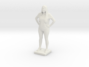Printle C Femme 043 - 1/35 in White Natural Versatile Plastic
