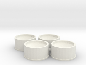 Jantes 21,5x11 ET0 MiniZ in White Strong & Flexible