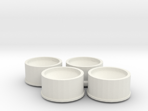 Jantes 21,5x11 ET1 MiniZ in White Strong & Flexible