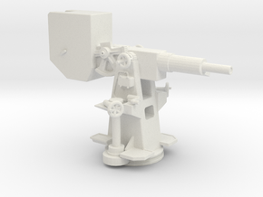 1/32 German Kriegsmarine Training Guns v1 in White Natural Versatile Plastic