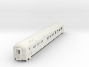 D&RGW Dining Streamstyled Car in White Natural Versatile Plastic