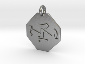 Pendant Thermodynamics First Law in Natural Silver