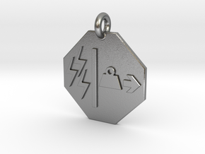Pendant Mass Energy Equivalence in Natural Silver