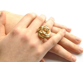 Ring Love is in the Air M (from $19) in 18k Gold Plated: 7.25 / 54.625