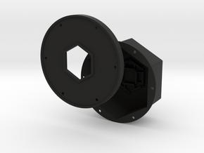 Dual Rig Cover kit in Black Natural Versatile Plastic