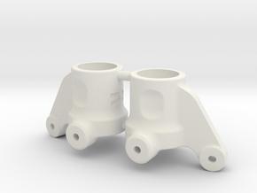 7084 - Multi-Axle Steering Arms in White Natural Versatile Plastic