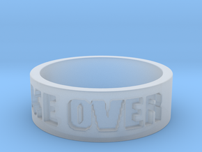 Game Over Ring in Smooth Fine Detail Plastic: 13 / 69