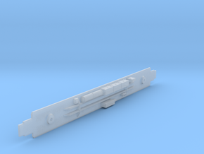 D&RGW Prospector Coach Chassis in Smooth Fine Detail Plastic