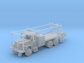 MOW Rail Truck 2 Door Cab 1-87 HO Scale in Smooth Fine Detail Plastic