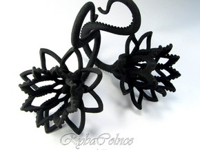 Plugs / gauges/ 4g (5 mm) in Black Strong & Flexible