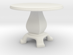 Round Table in White Strong & Flexible