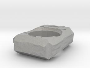 TerrainHex Knuckle Duster in Aluminum