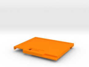TED V2 Low Profile Shell in Orange Strong & Flexible Polished