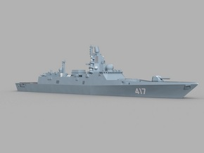 1/1800 RFS Admiral Gorshkov-class frigate in Smooth Fine Detail Plastic