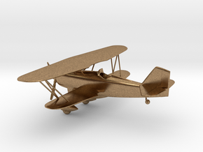 Curtiss P-6 Hawk biplane in Natural Brass: 1:96