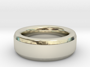 Simple Ring in 14k White Gold: 12 / 66.5
