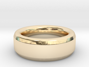 Simple Ring in 14k Gold Plated: 9 / 59