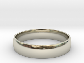Customizable Ring in 14k White Gold: 9 / 59
