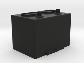1:10 Scale Battery  in Black Natural Versatile Plastic