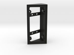 Ring Doorbell Angle Bracket/Wedge 40Left in Black Natural Versatile Plastic