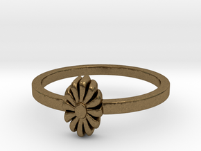 Flora Ring (size 6-13) in Natural Bronze: 11 / 64