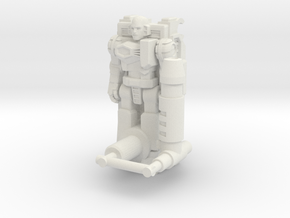 Locke Stockton Transforming Weaponoid Kit (5mm) in White Natural Versatile Plastic