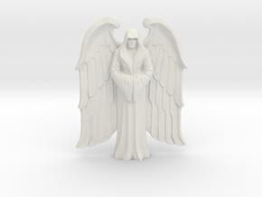 Winged Imperial Saint in White Natural Versatile Plastic