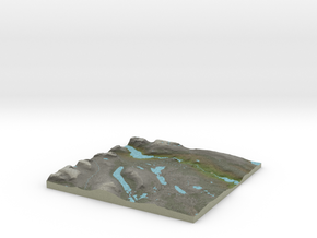 Terrafab generated model Fri Jan 20 2017 14:55:44  in Full Color Sandstone