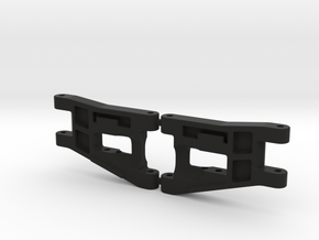 RC10 A-ARM FRONT LWB-001 in Black Strong & Flexible